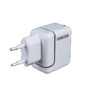 Зарядно устройство 220V USB/2100mA