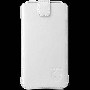 "Калъф за смартфон Prestigio SmartPhone case size M  white 4.5"" PSCM01WH"