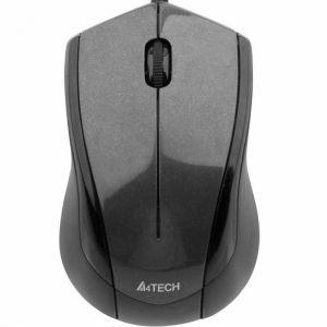 A4tech N-400-1 V-Track PADLESS Жична мишка, сива