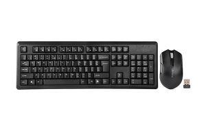 Безжични клавиатура и мишка A4 4200N WL DESKTOP BLACK