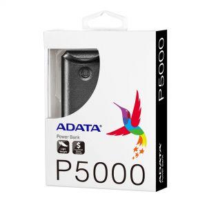 ADATA POWER BANK P5000 5AH BLK