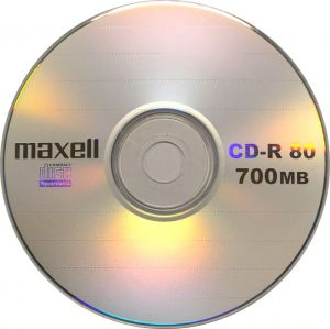 CD-R 700MB MAXELL 80min